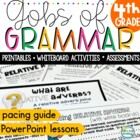 Common Core Grammar 4th Grade ~ Grammar Worksheets and Grammar Practice