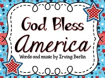 God Bless America Sing-a-long