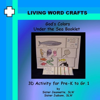 God's Colors Under the Sea Booklet for Pre-K to Gr.1