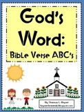 Bible Verse ABC's (God's Word Alphabet Posters and Colorin