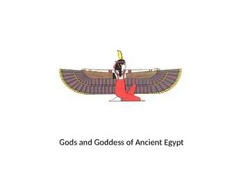Gods and Goddess of Ancient Egypt Powerpoint