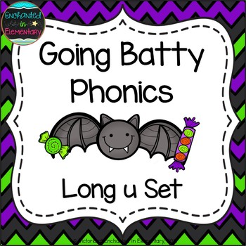 Going Batty Phonics: Long U Pack