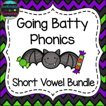 Going Batty Phonics: Short Vowel Bundle