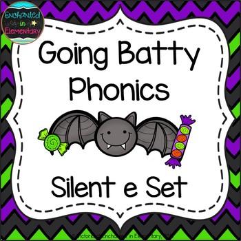 Going Batty Phonics: Silent E Words Pack