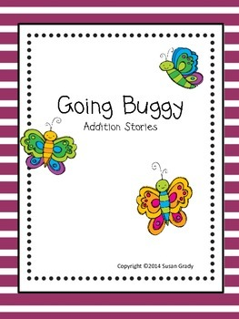 Going Buggy Addition Word Problem Book