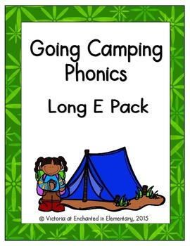 Going Camping Phonics: Long E Pack