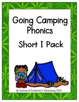 Going Camping Phonics: Short I Pack