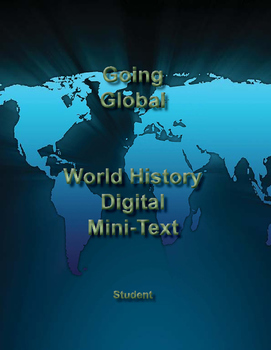 Going Global - High School World History Lesson Mini-Text