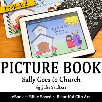 """Going to Church Lesson """"Sally Goes to Church"""" Children's S"""