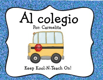 Going to school (Spanish)