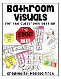 Bathroom Visual Schedule-For Student's with Special Needs