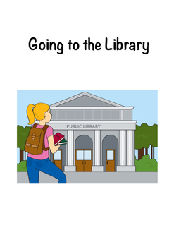 Going to the Library Social Story