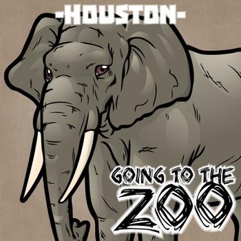 Going to the Zoo! -- Houston -- 12 Wild Animals -- 100+ K-