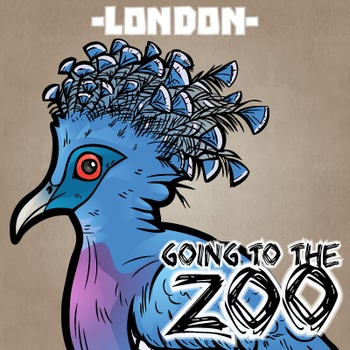 Going to the Zoo! -- London -- 12 Wild Animals -- 100+ K-2