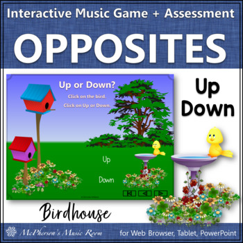 Up or Down?  Interactive Melodic Direction Game & Assessme