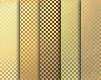 Gold Checker Paper, Digital Papers, Gold Checker Set #089