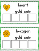 Gold Coin Shape Sorting
