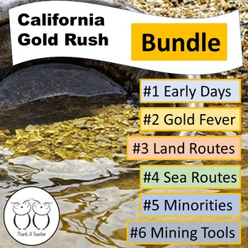 Gold Rush Series #1-6 Bundle Early Days Gold Fever Sea Rou