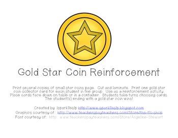 Gold Star Reinforcement