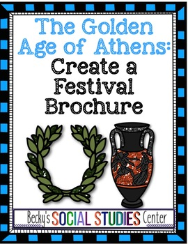Golden Age of Athens, Ancient Greece - Create a Festival Brochure
