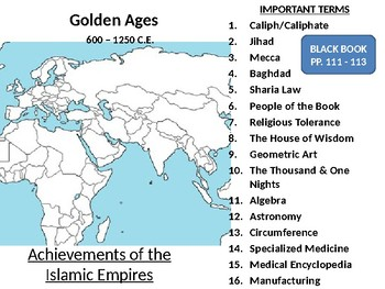 Golden Age of Islam Powerpoint