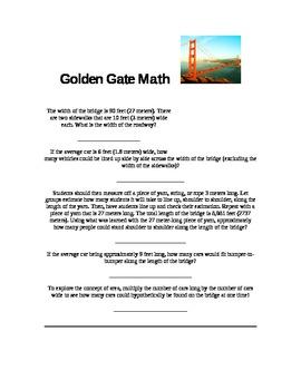 Golden Gate Math
