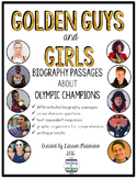 Golden Guys and Girls: Differentiated Biography Passages A