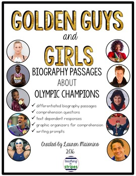 Differentiated Biography Passages About Olympic Champions
