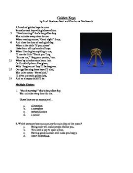 Golden Keys - Literary Text Test Prep