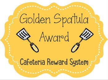 Golden Spatula Cafeteria Reward