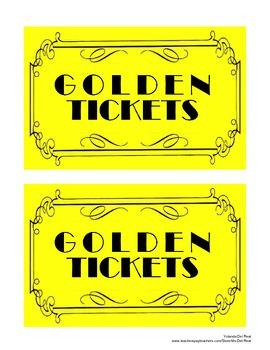 Golden Tickets Sign
