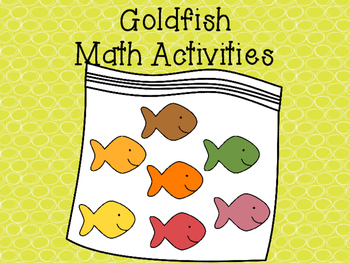 Goldfish Activities