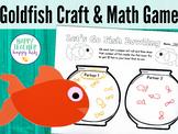 Goldfish Craft & Math Game: Pre-K, Transitional Kinder, & Kinder