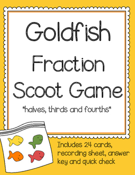 Goldfish Fraction Scoot Game