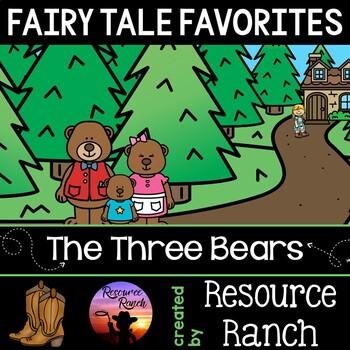 Goldilocks and the Three Bears Reader and Printables