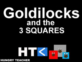 Goldilocks And The 3 Squares