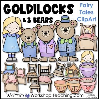 Goldilocks Clip Art - Whimsy Workshop Teaching