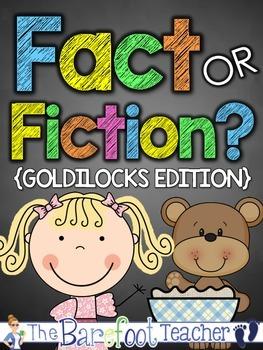 Goldilocks Fact or Fiction {Fairy Tales}
