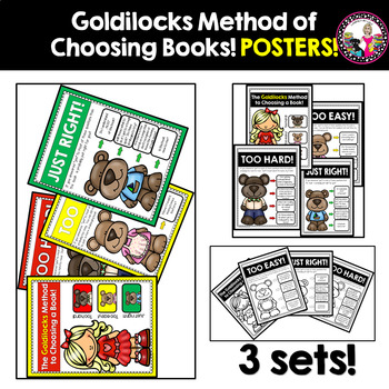 Goldilocks' Guide to Choosing Books-Bulletin Board