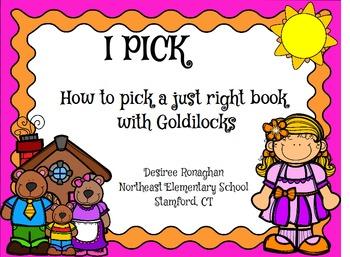 Goldilocks I.P.I.C.K & Just Right Books