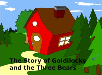 Goldilocks Interactive Literacy Story