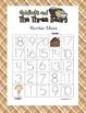 Goldilocks Kindergarten Common Core Leveled Number Tracing