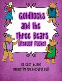 Goldilocks Literacy Packet - Common Core Kindergarten Aligned