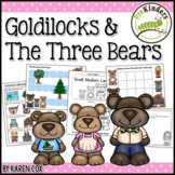 Goldilocks & The Three Bears Activities (Pre-K, Preschool)