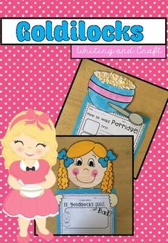 Goldilocks Writing and Craftivity