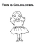 Goldilocks and The 3 Bears Adapted Book (Autism, Speech) B