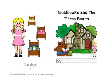 Goldilocks and The Three Bears Leveled Readers