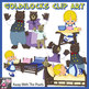 Goldilocks and Three Bears Clip Art - 25 Color and Black &