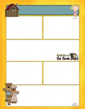 Goldilocks and the 3 Bears Newsletter for Word