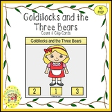 Goldilocks and the Three Bears Fairy Tales Count and Clip